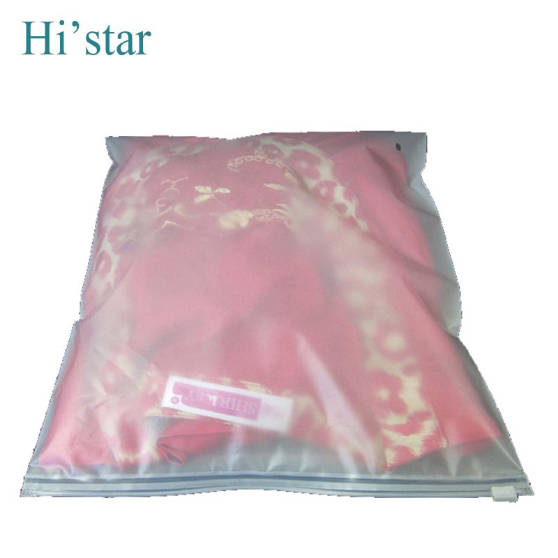 35*45cm 20pcs/bag,Zipper top screen printing recyclable suit packaging bags plastic shopping bags(China (Mainland))