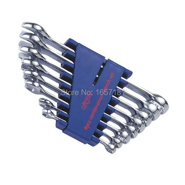 8pcs/set combination Wrench set (Metric) combination spanner set
