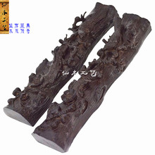 Very happy paperweight town feet foot pressed paper books repression of African mahogany wood ornaments Wenfangsibao big leaf sa(China (Mainland))