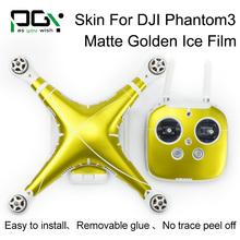 PGY DJI phantom3 Graphic Wrap Decal Skin Sticker Cover Fr DJI Phantom 3 accessories Quadcopter drone parts