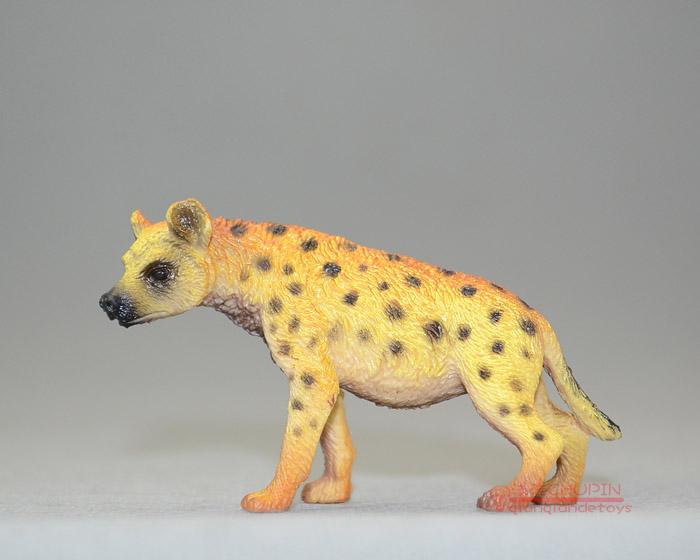 Animas ! solid animal model toy hyena mole crickets decoration 6-12cm(China (Mainland))