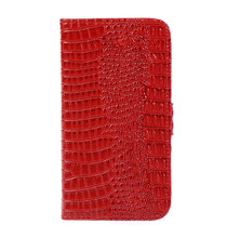 Luxury Crocodile Flip Leather Case For Samsung Galaxy I9300 S3 Neo I9301/SIII Duos I9300i Wallet Card Slots Stand  + Free film(China (Mainland))