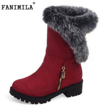 Buy New Fashion 2016 Woman Warm Snow Boots Women Flats Round Toe Boot Botas Femininas Winter Girls Shoes Footwear Size 30-52 for $29.57 in AliExpress store