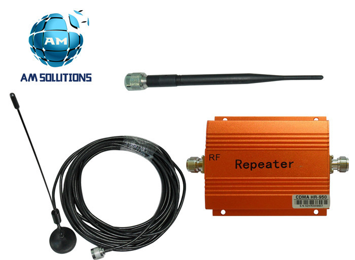 850Mhz CDMA r Mobile Phone Signal Booste Repeater Cell Phone Amplifier with antennas(China (Mainland))