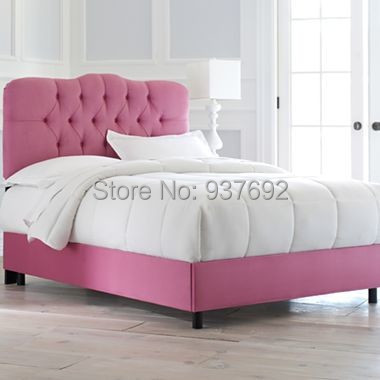 FB1514 Padded Bedroom Furniture, PINK(China (Mainland))