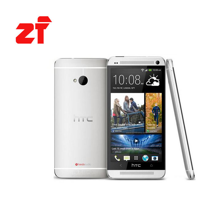 Original <font><b>HTC</b></font> One m7 Unlocked Android phone GSM 3G&4G Quad-core ONE M7 32GB Mobile Phone 4.7