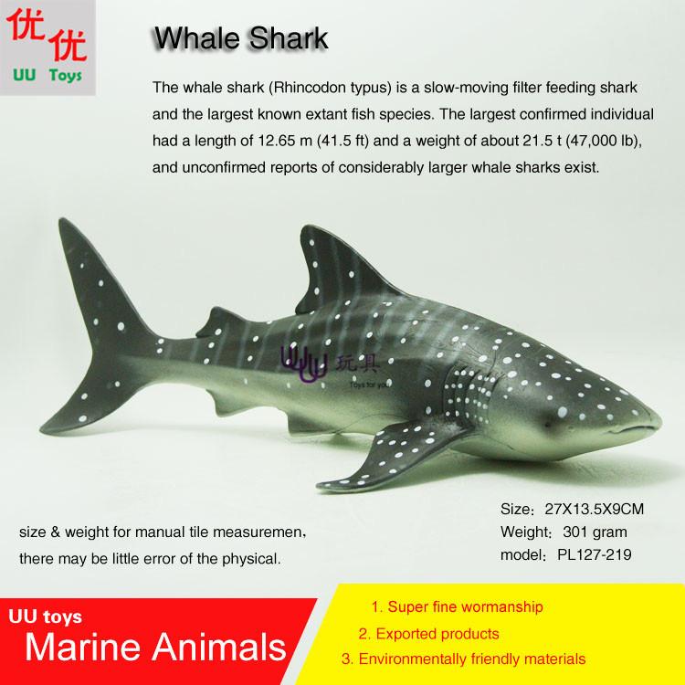 Hot toys Whale Shark Simulation model Marine Animals Sea Animal kids gift educational props (Rhincodon typus) Action Figures(China (Mainland))