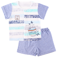 New Style Baby Clothes Boys and Girls Comfort Cotton Underwear Suit Summer Shorts Thin Pajamas(China (Mainland))