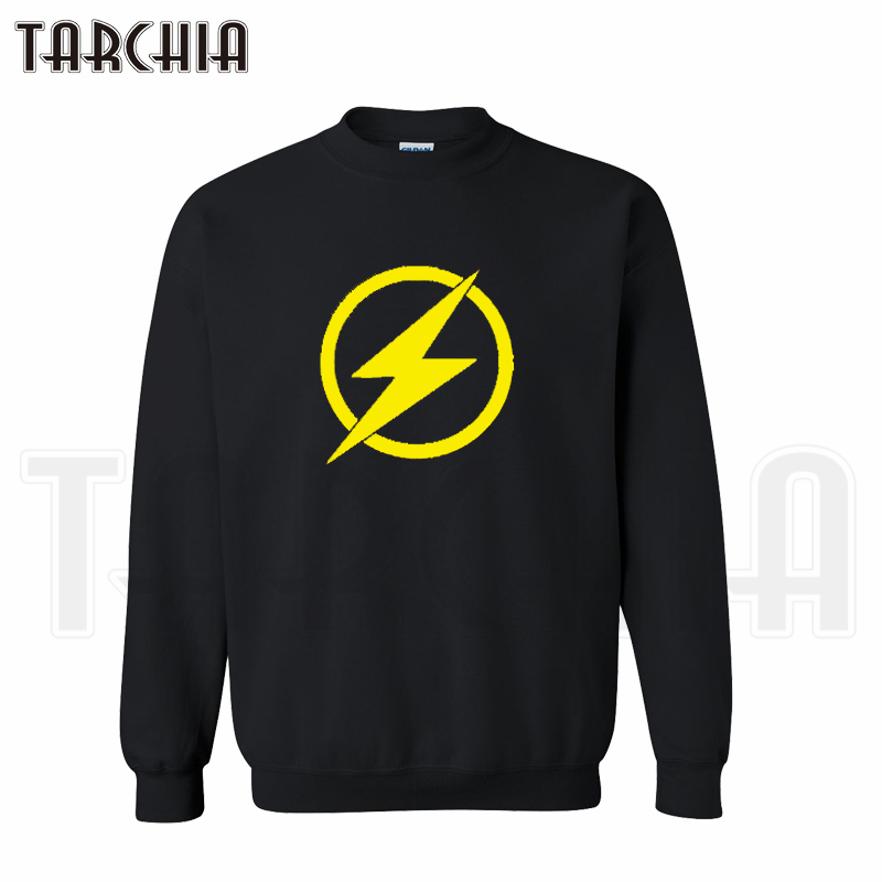 TARCHIA 2016 font b hoodies b font pullover TV series swift speed Flash font b sweatshirt