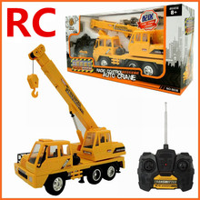 1:26 Remote control crane,Electric engineering vehicles,4-channel car,Wireless RC model toys,Oversized toy car,free shipping(China (Mainland))