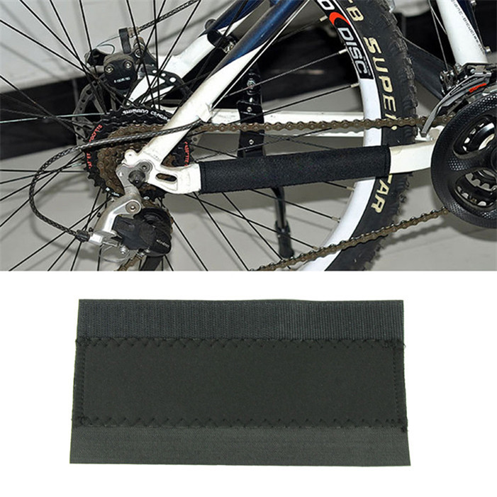 Stylish 2015 outdoor 4 x Bike Bicycle chain protector for all Cycling MTB Chain Care Stay Posted Guard Cover Pad(China (Mainland))