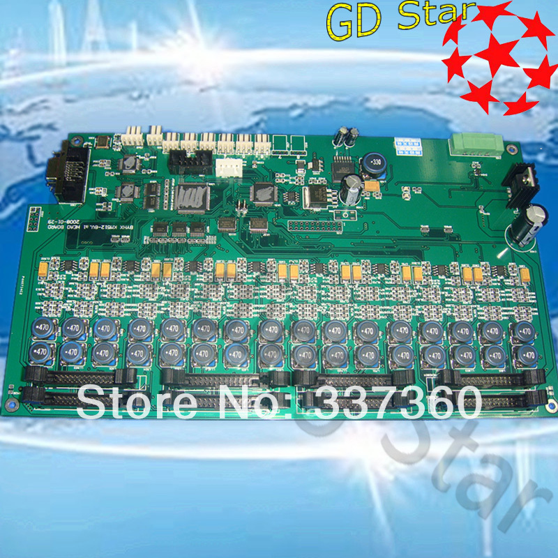 Free shipping! allwin konica printhead board as solvent konica km512 head printer carriage board(China (Mainland))