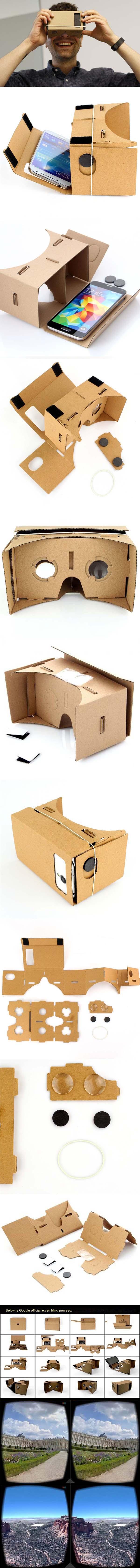 Как сделать очки виртуальной реальности для телефона 539