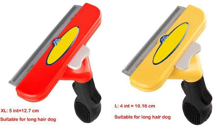Hot Selling With Retail Package Removal Pet Comb Pet Hiar Cutter Pet Grooming FUR Shearing Tool