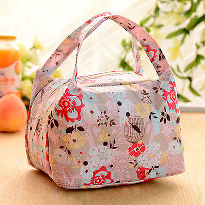 Hot New Portable Insulated Thermal Cooler Lunch Box Storage Bag Travel Picnic Tote Bag(China (Mainland))