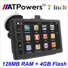 2015 7 inch HD Car GPS Navigator 800M/ FM/4GB/128MB New Maps For Australia Russia/Belarus/Kazakhstan Europe/USA+Canada Navi(China (Mainland))