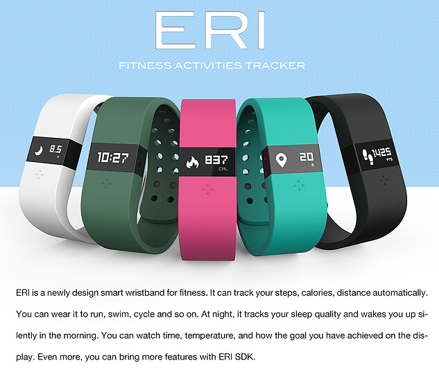 Digicare ERI Bluetooth Smart Watch Wristband Fitness Activity Tracker Bracelet Sleep Monitor Smartband OLED Real Time Display<br><br>Aliexpress