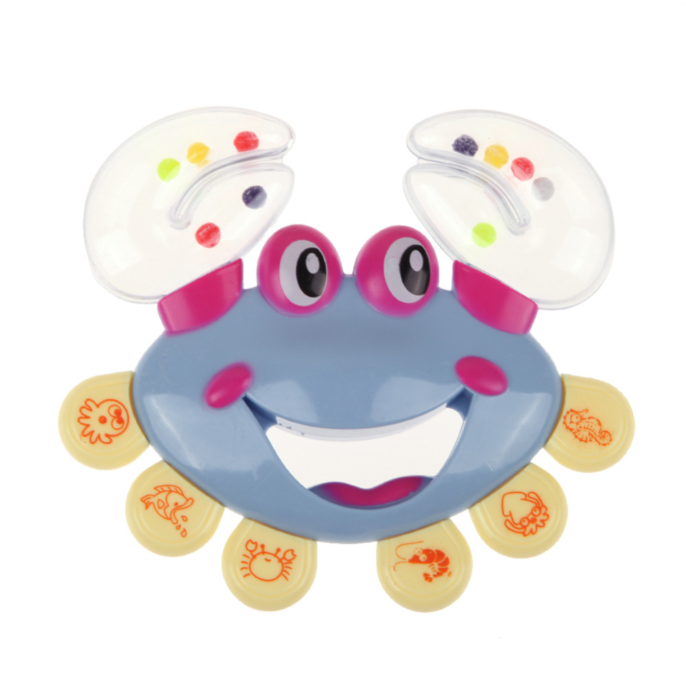 Kids Baby Rattle Toy Crab Design Handbell Musical Jingle Shaking Educational Newborn Mobile Baby Toys(China (Mainland))