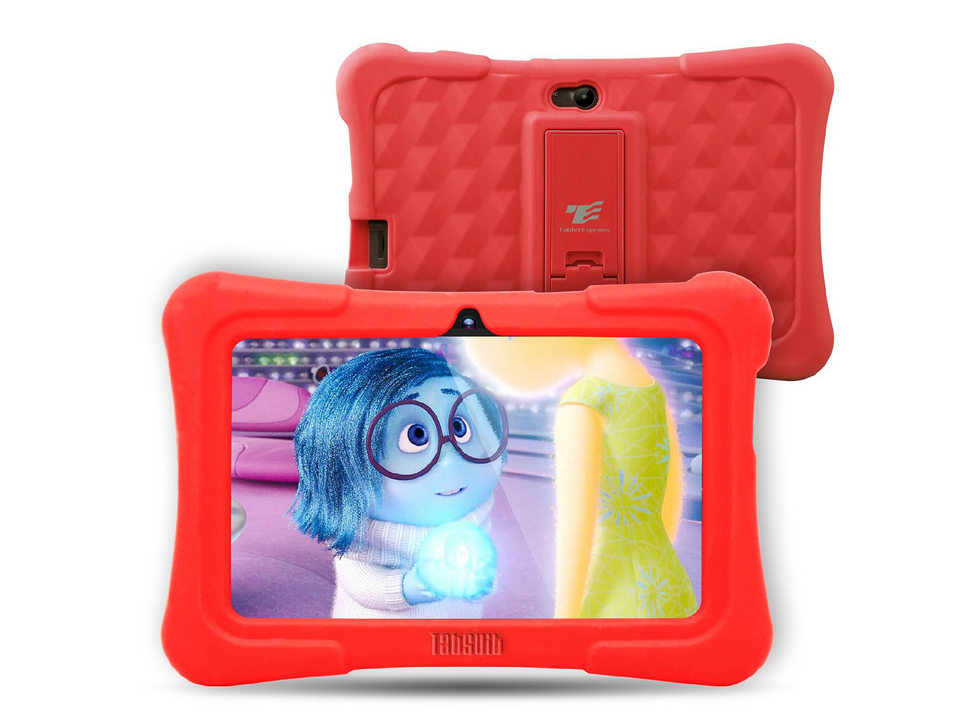 DragonTouch Y88X Plus 7 inch Pink Kids Tablet for Children Quad Core Android 5.1 + Tablet bag+ Screen Protector gifts for Child