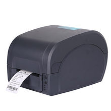 80mm thermal barcode label printer 203DPI with Thermal Transfer printing support win8 usb+Serial+Parallel interface