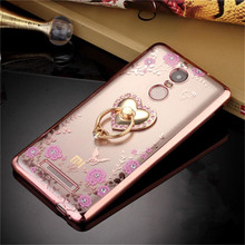 Xiaomi Redmi Note 3 Case Luxury style Plating Gilded TPU silicone soft Back Cover Bag Accessory Coque Note3 Fundas - xinchentech Christychen Store store