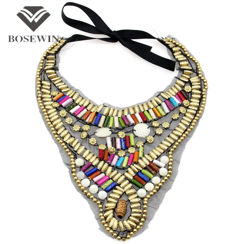 Indian Style Handmade Choker Multicolor Candy Beads Collar