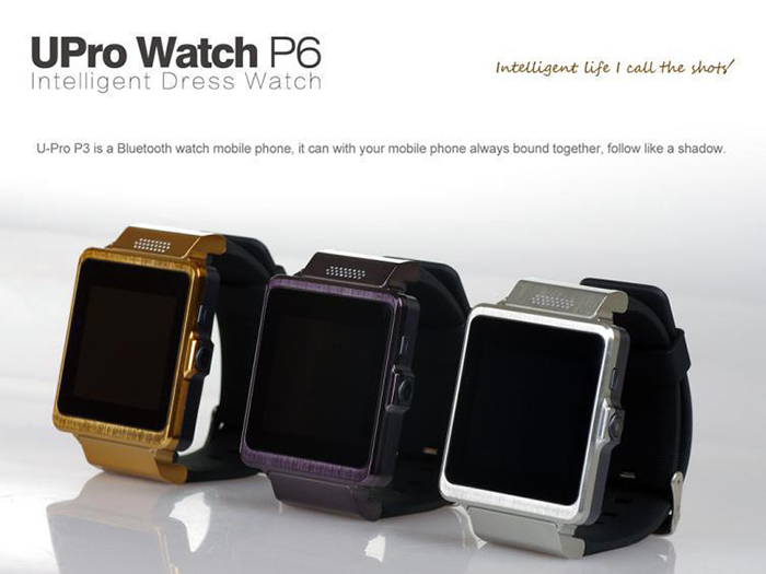 2015 New Sport Watches Bluetooth smartwatch Upro P6 with Mini Camera Stopwatch SMS Sim Card Smart Watch Android Phone<br><br>Aliexpress