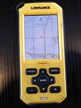 USED LOWRANCE ENDURA OUT & BACK OUTBACK OUTDOOT HANDHELD GPS NAVIGATOR(China (Mainland))