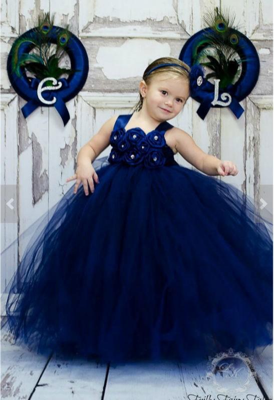 Toddler Flower Girl Dresses Royal Blue - Wedding Dress Buy Online Usa