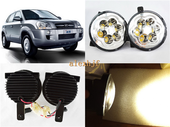 Super Bright 18W 6LEDs  6500K LED Daytime Running Lights LED fog lamp Case for Hyundai Tuscon 2005~10, Over 1200LM/pc.<br><br>Aliexpress