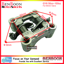 GY6 50cc Engine Parts Camshaft Holder Rocker Arm Assy 139QMA 139QMB Chinese Scooter Parts ATV Parts Znen Baotian, Free Shipping