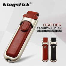 New design usb flash drive with leather package cle usb memory stick pen drive pendrive U disk 64GB 16G 8GB 32Gb 4G usb flash(China (Mainland))