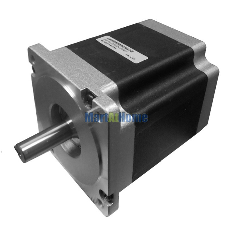 Фотография Leadshine 86HS65 High Performance 2-Phase NEMA 34 CNC Hybrid Stepper Motor 991 Oz-In Torque (7 N.m) 8-leads #SM685 @SD