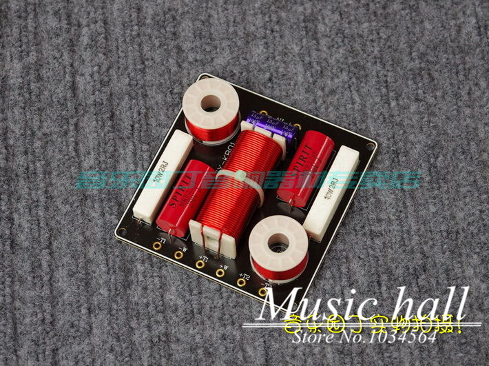 Music Hall HiFi 2-way KTV Speaker Frequency Divider TIIREEWAY Crossover Filters For Music Lover DIY Free Shipping<br><br>Aliexpress