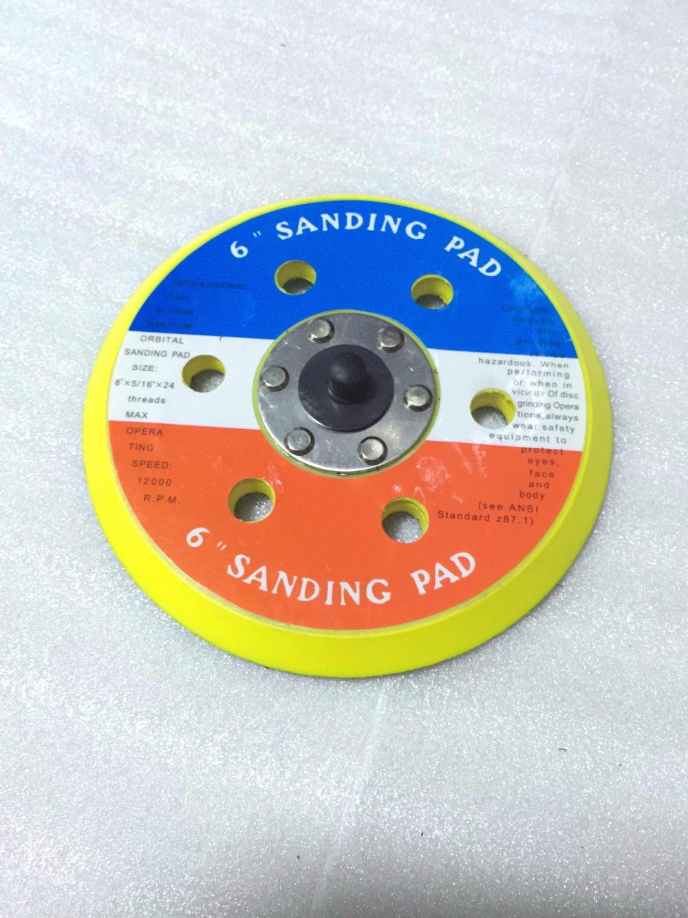 6 inch sanding pad<br><br>Aliexpress