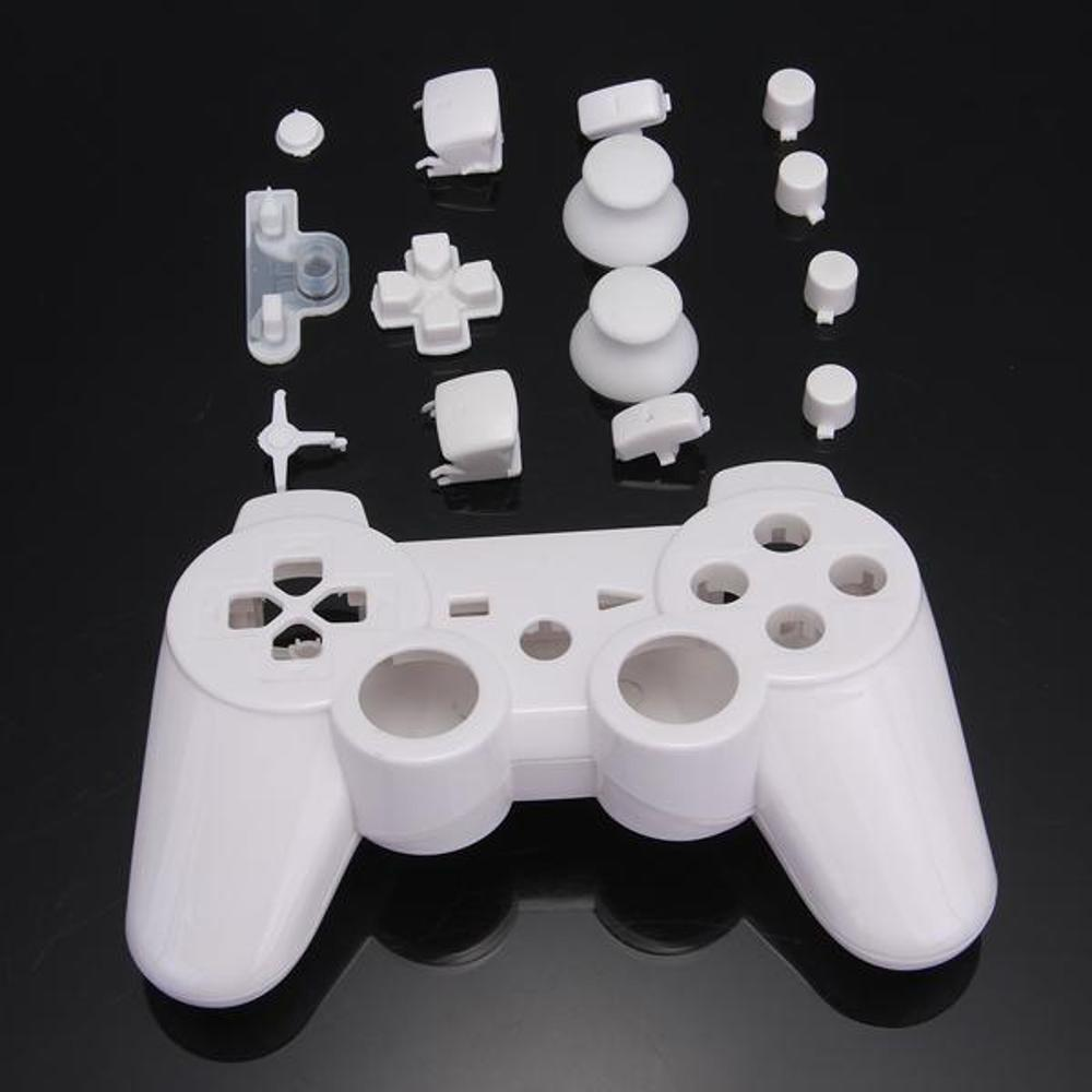 Shell Silicone Case with Buttons for Sony for PS3 Wireless Controller for Playstation 3(China (Mainland))