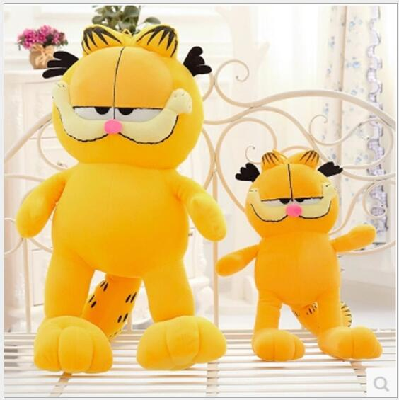 20cm 30cm Hot Sell American Cartoon Child Plush Toy Doll Cute Cat Garfield Plush Toy Children's Day Gift Free Shipping(China (Mainland))