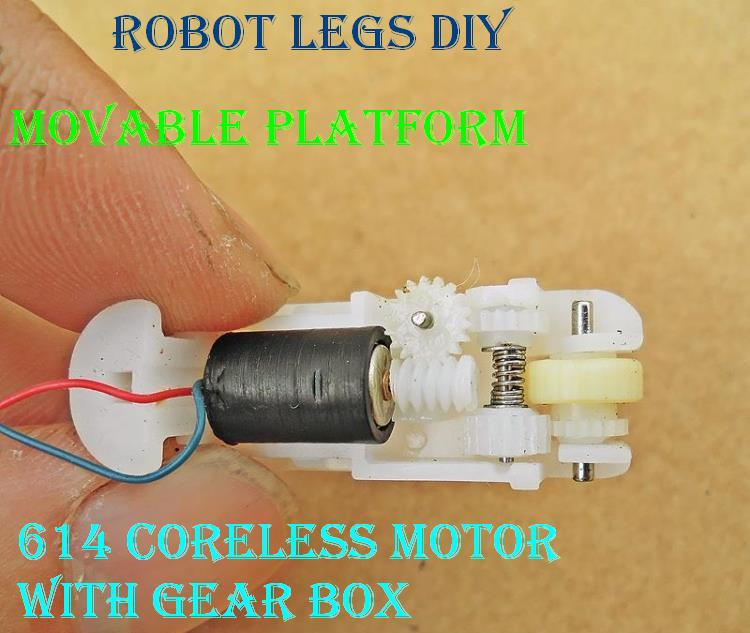 10PCS 614 Hollow Cup Motor 3V 160RPM With Gear Box Front Wheel Drive Electric Toy Train Robot Leg DIY(China (Mainland))