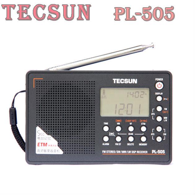 Tecsun PL-505 Digital PLL Portable Radio FM Stereo/LW/SW/MW DSP Receiver Nice tecsun PL505 rdio