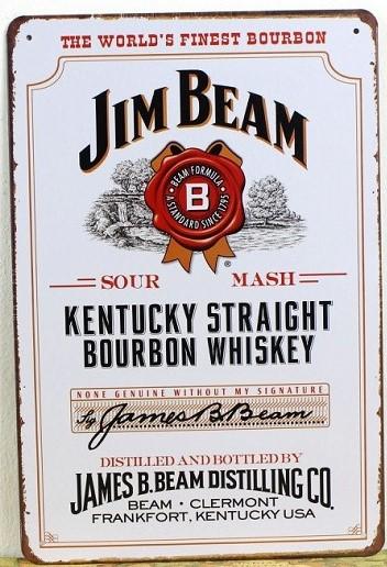 Popular Jim Beam Poster-Buy Cheap Jim Beam Poster lots from China ...