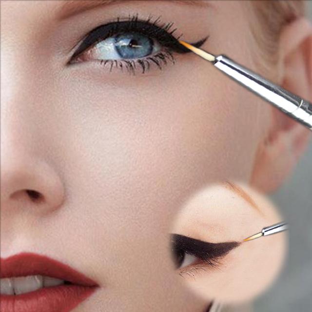 Новая косметическая водонепроницаемый подводки для глаз карандаш макияж черная жидкость ...