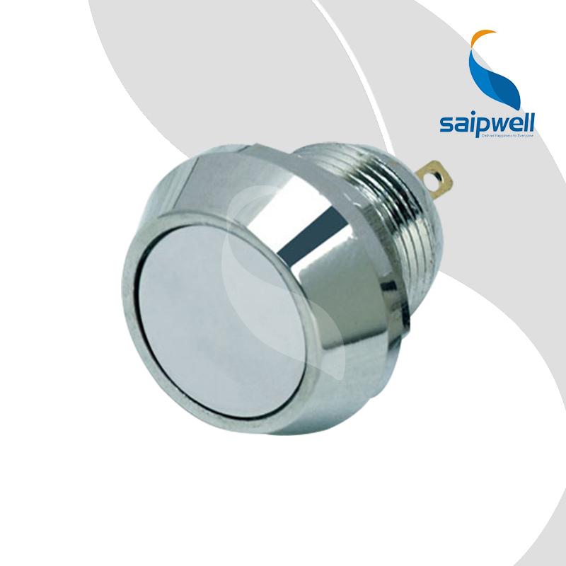 Onpow 12 мм винтовой вывод нержавеющая сталь кнопк
