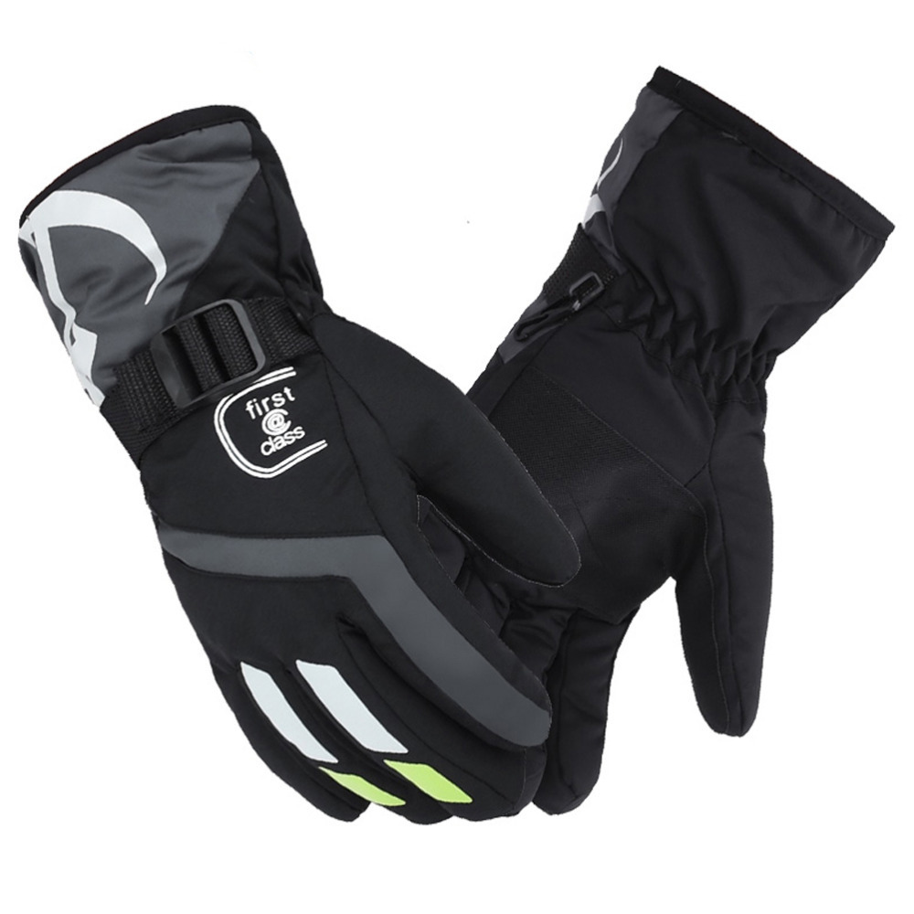 Winter outdoor sport Mountain Ski Gloves windproof water repellent warm snowmobile skateboard snowboard snow Gloves men women(China (Mainland))