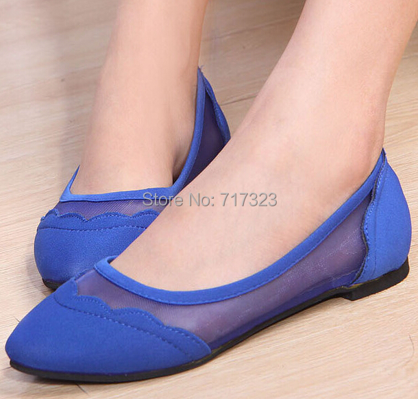 Free shipping shoes flats womens,Fashion summer new arrival gauze pointed toe single shoes ,flat casual platform sandals<br><br>Aliexpress