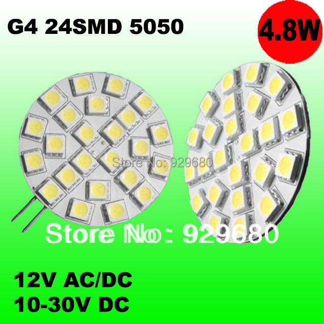 LED car light 4W G4 24SMD 5050 LEDs,marine light,dome light,door light,high efficient,superbright,10-30V DC,12V AC/DC optional<br><br>Aliexpress