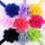12 Colors Sweet children chiffon yarn lace flower headband baby girl's hair band headwear crown hair accessories