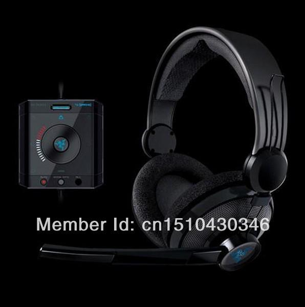 Razer Megalodon Virtual 7.1 Surround Sound USB Gaming Headset Free shipping, In stock Original Discount(China (Mainland))