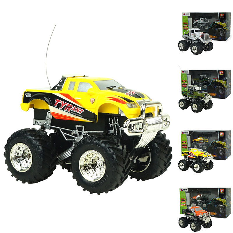 1:43 Radio Remote Rechargeable Off-Road RC Car Vehicle Model Truck Toys(China (Mainland))