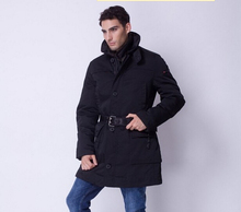 winter peuterey classic lengthen ultra plus size men's brand Casual down coat fur collar thickening outerwear / M-XXL(China (Mainland))