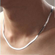 2016 New Arrival high quality classic design men`s necklaces/925 sterling silver men necklace jewelry promotion(China (Mainland))